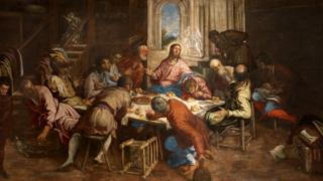 The Last Supper, circa 1563/1564