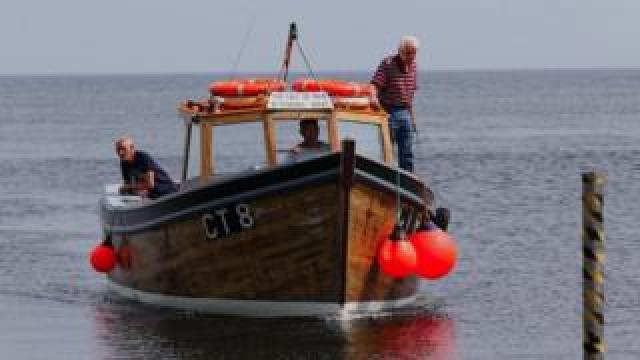Calf of Man boat