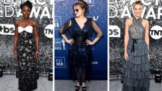 Lupita Nyong'o, Helena Bonham Carter and Margot Robbie