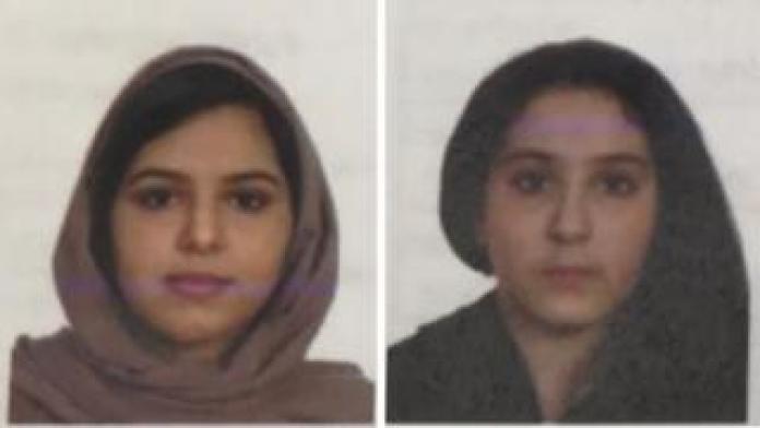 Tala Farea, 16, and Rotana Farea, 22