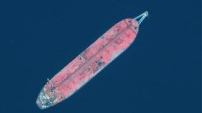 FSO Safer tanker from above