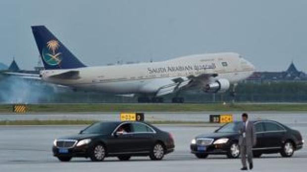 Saudia Arabia plane