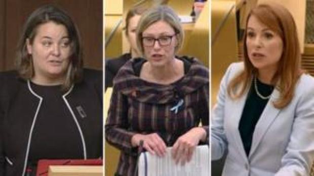 Ruth Maguire, Gillian Martin and Ash Denham's private messages were shared online