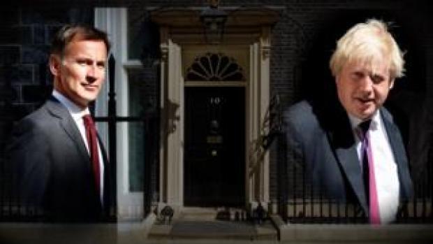 Jeremy Hunt and Boris Johnson
