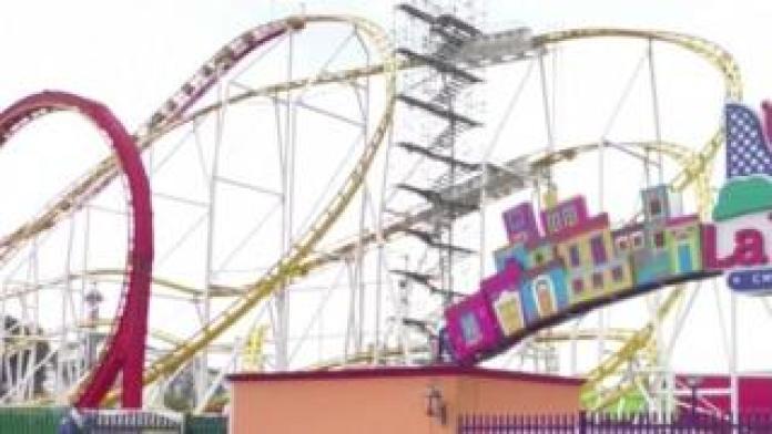 Parc d'attractions La Feria Chapultepec à Mexico, Mexique. Photo: 29 septembre 2019
