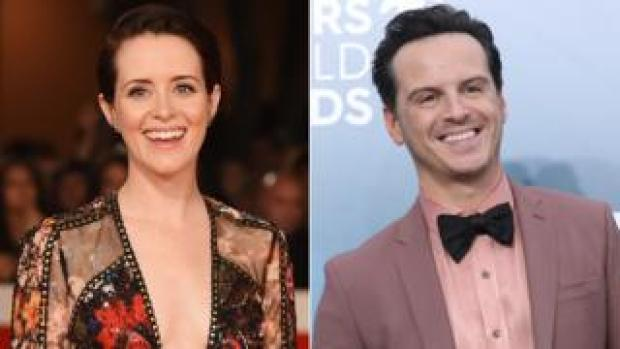 Claire Foy and Andrew Scott