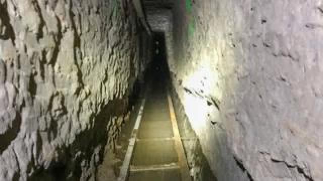 "The ""Baja Metro Tunnel"", which US Customs and Border Protection (CBP) says is the longest illicit cross-border tunnel ever discovered"