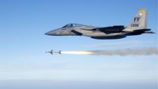 An F-15 Eagle jet (file image)