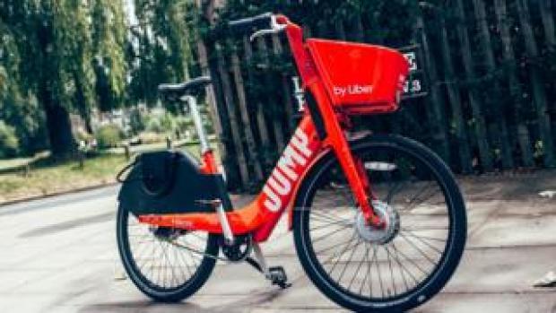 Uber Jump bike