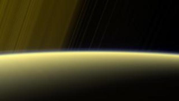 Saturn atmosphere