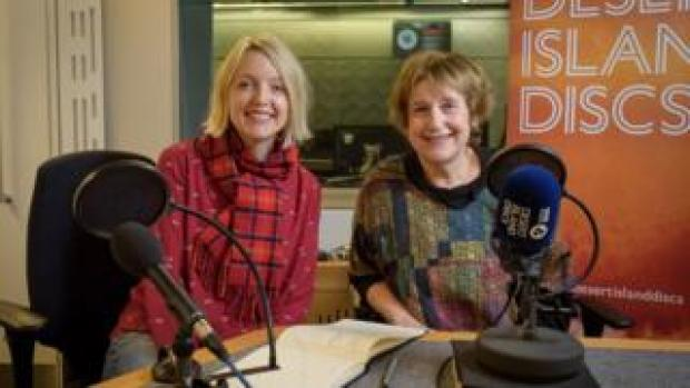 Lauren Laverne and Wendy Cope