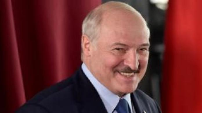 Alexander Lukashenko este domingo.