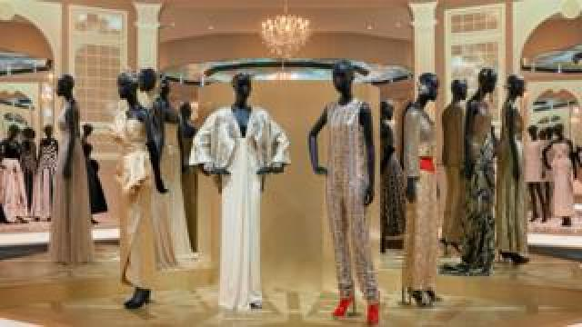 Christian Dior Designer of Dreams exhibition - Ballroom section