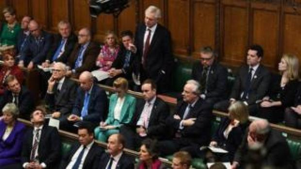 MPs in the chamber of the House of Commons