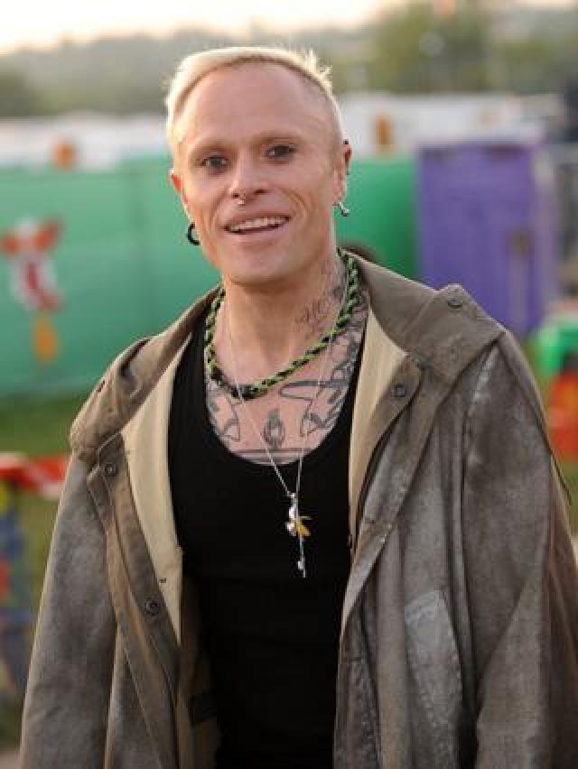 Keith Flint at Glastonbury Festival, 2009