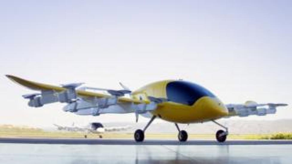 Cora self-flying air taxi