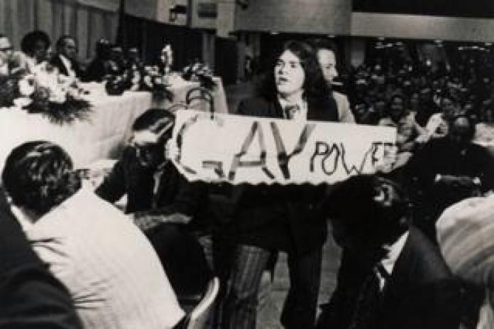 Segal crashed a Nixon fundraiser in 1972