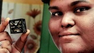 Image result for Indian Teen Builds World's 'Lightest Satellite'