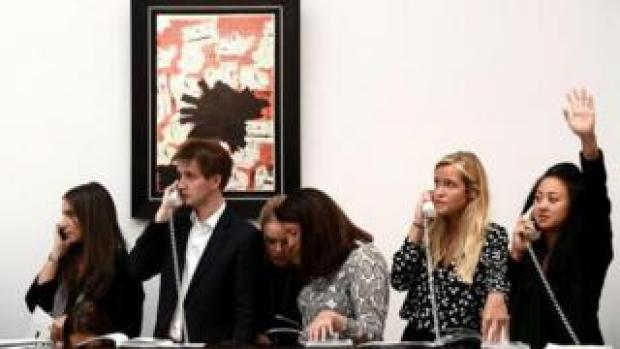 Auction at Sotheby's