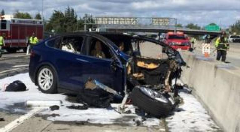 Tesla driver death