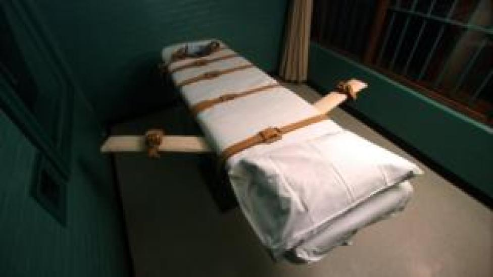 A Texas death chamber in 2000