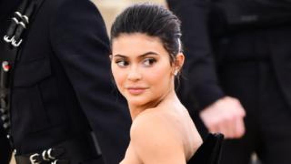 trump Kylie Jenner