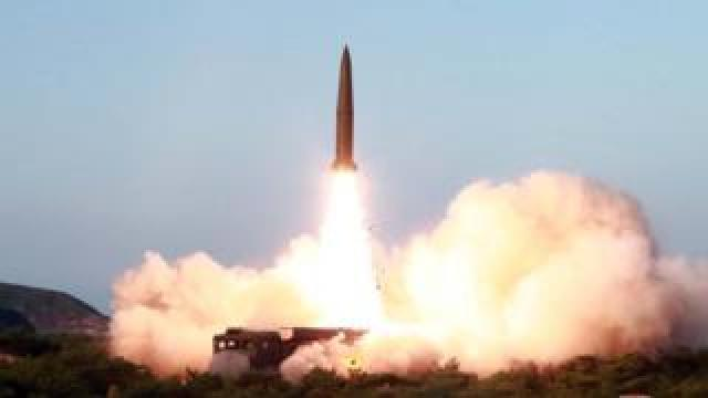 North Korea's missile launch on July 26