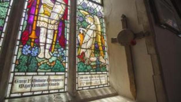 Cross at St John the Baptist Church, Garboldisham, Norfolk