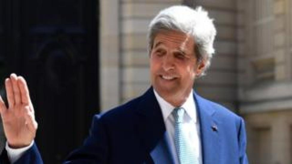 trump File picture of former US Secretary of State John Kerry