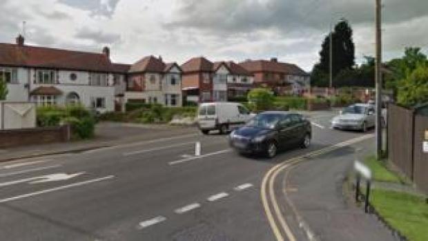 School Lane junction with Birmingham Road