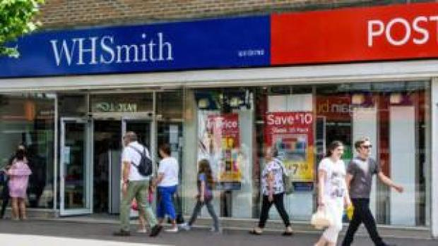 WH Smith and Post Office