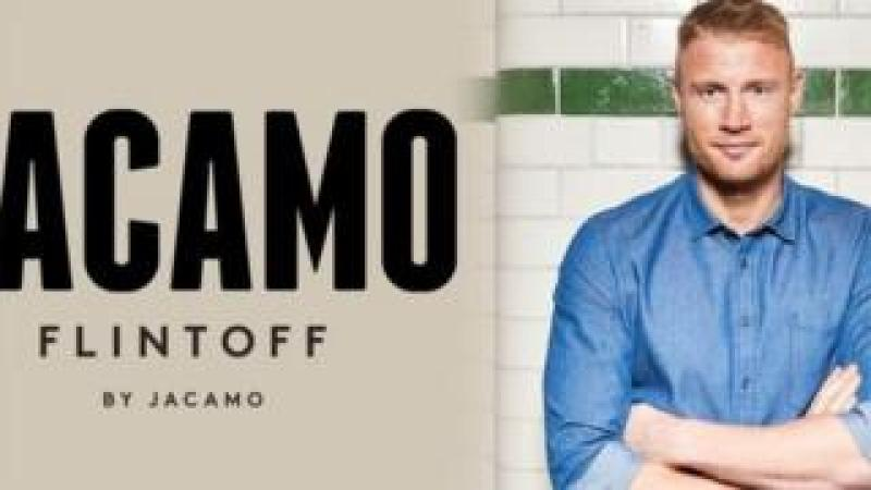 Freddie Flintoff and Jacamo advert