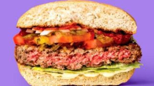 Impossible Foods' bleeding veggie burger