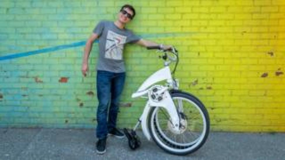 trump Lucas Toledo, CEO of Gi Fly Bike