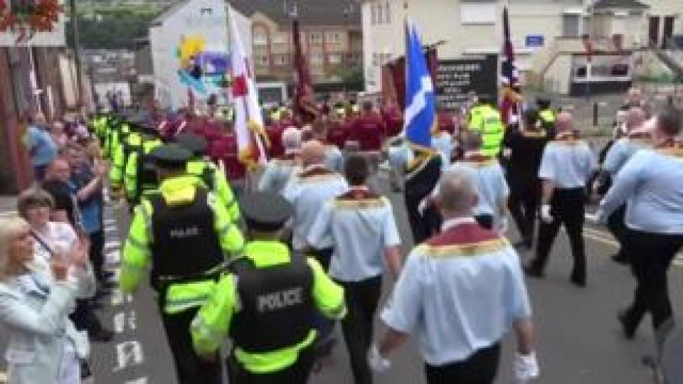Apprentice Boys: Clyde Valley Flute Band 'not welcome' in future