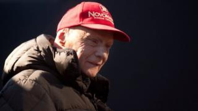 Niki Lauda on 1 February 2015