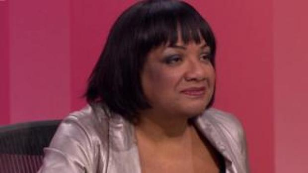 Diane Abbott on QT