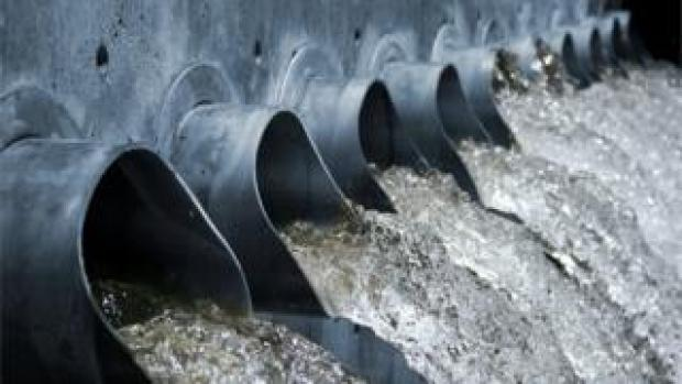 A generic image of water treatment