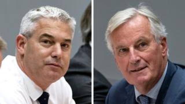 Stephen Barclay and Michel Barnier