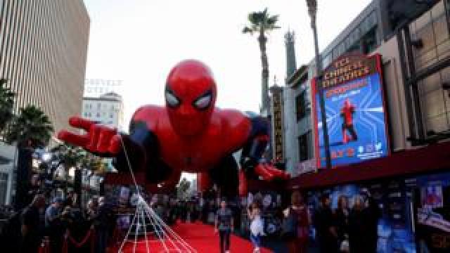 Spider-Man premiere