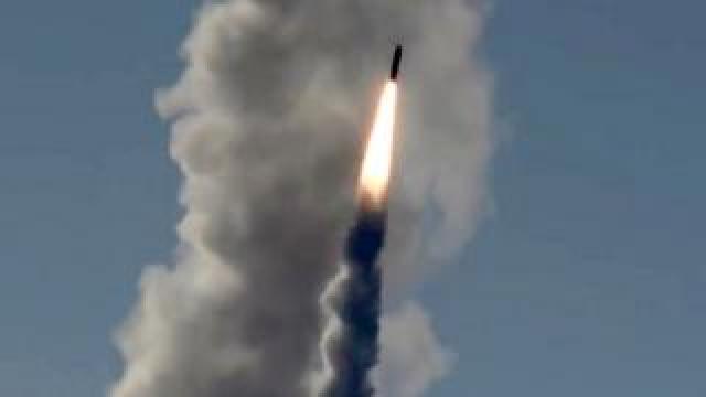 Russian Bulava missile, file pic, 23 May 18