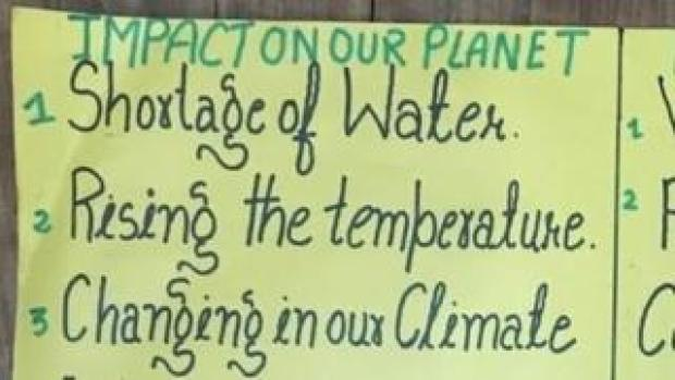 List of things that impact the environment