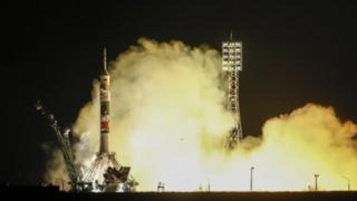 Nation breaking news Soyuz rocket launch 14 March 2019
