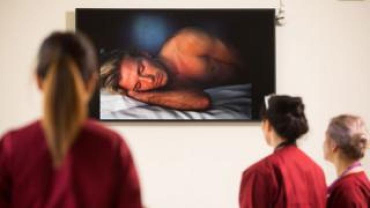 'David' on show at Whipps Cross Hospital