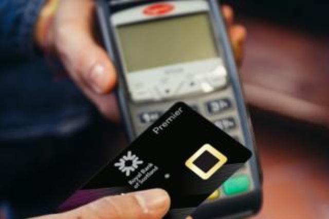 RBS fingerprint bank card