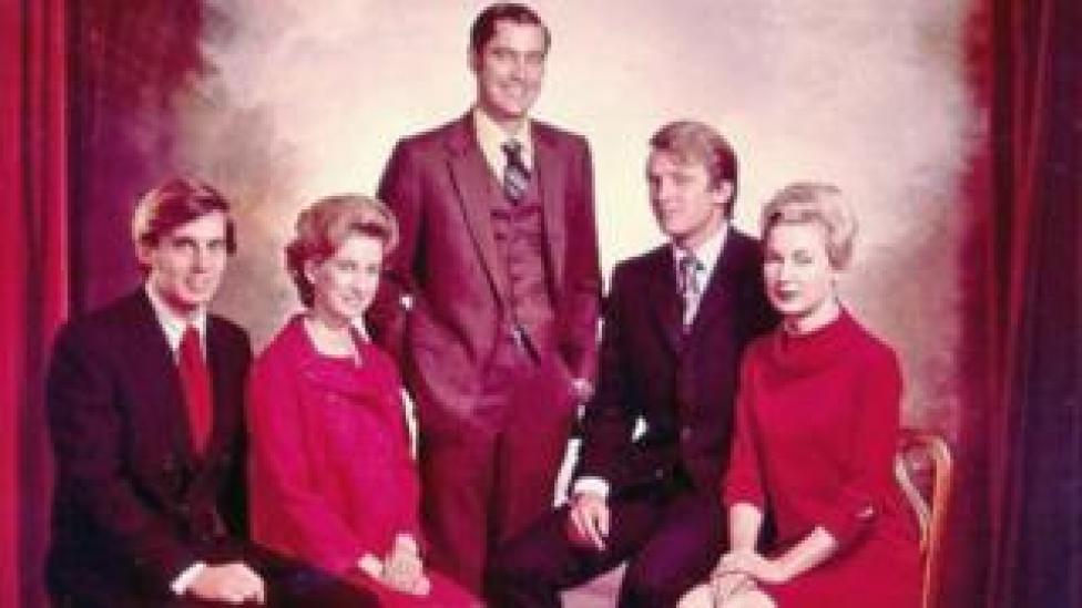 trump The Trump family siblings