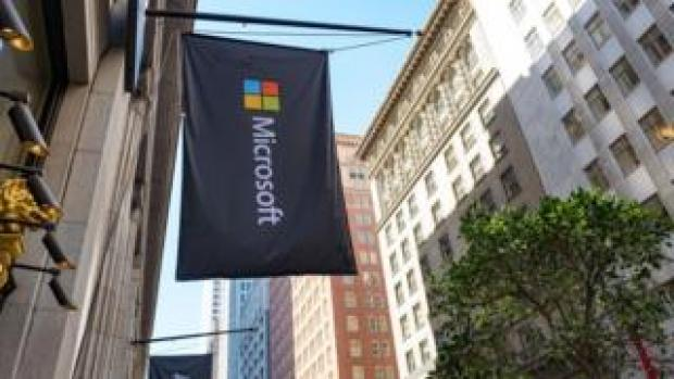 Microsoft flag