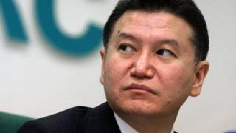 World Chess Federation President Kirsan Ilyumzhinov