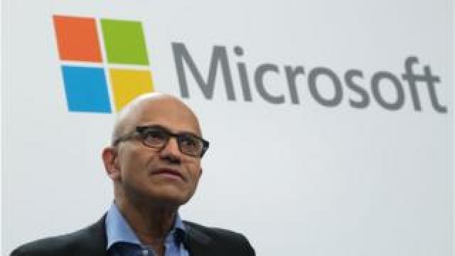 Microsoft boss Satya Nadella