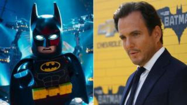 Lego Batman and Will Arnett
